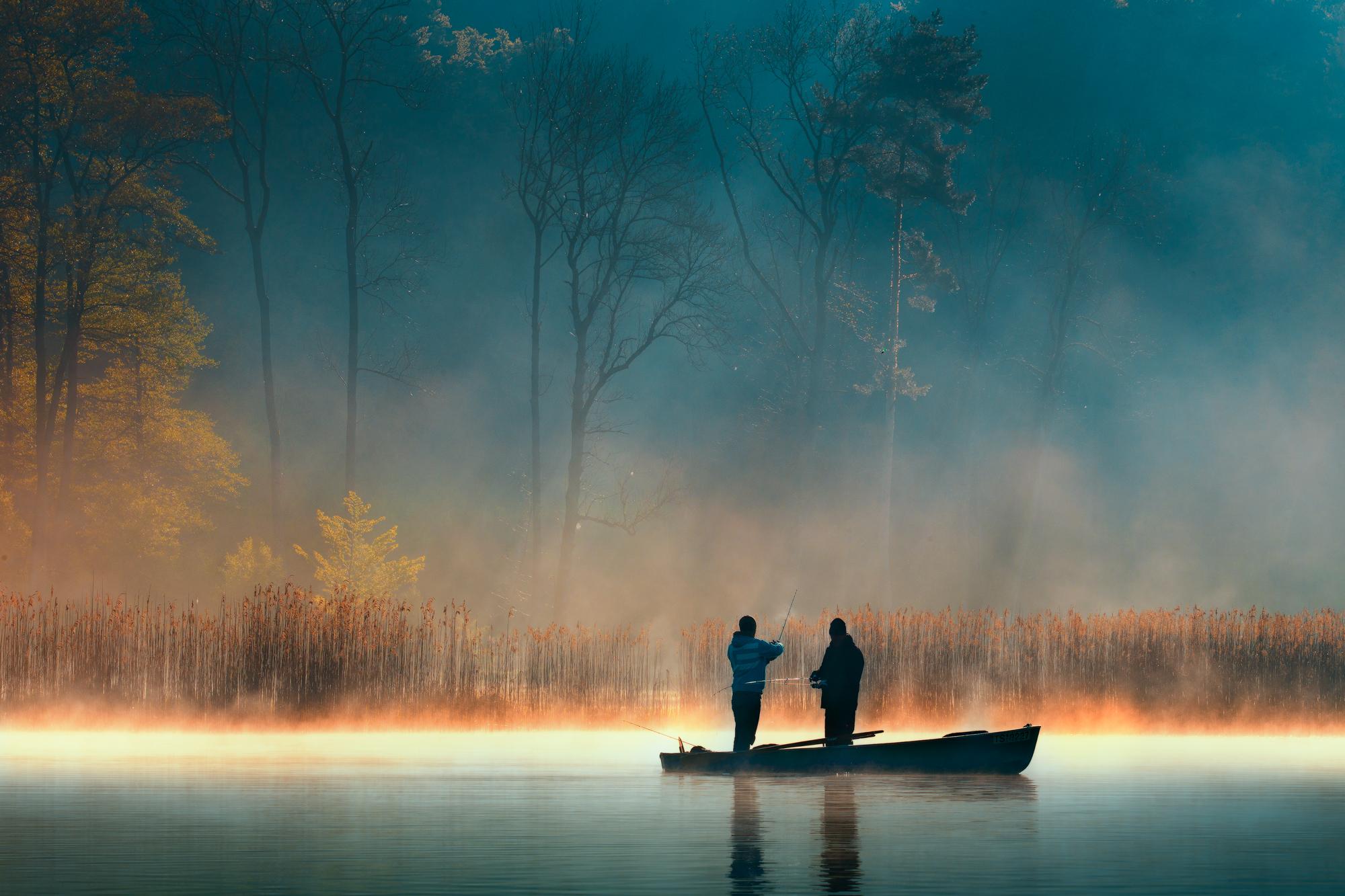 Das Angelmotiv 2017 für die Waginger See Region