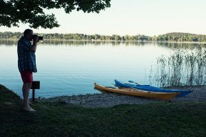 Naturnah campen in Hainz am See