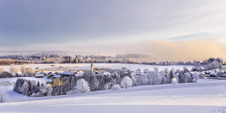 Winterwanderung um den Waginger See